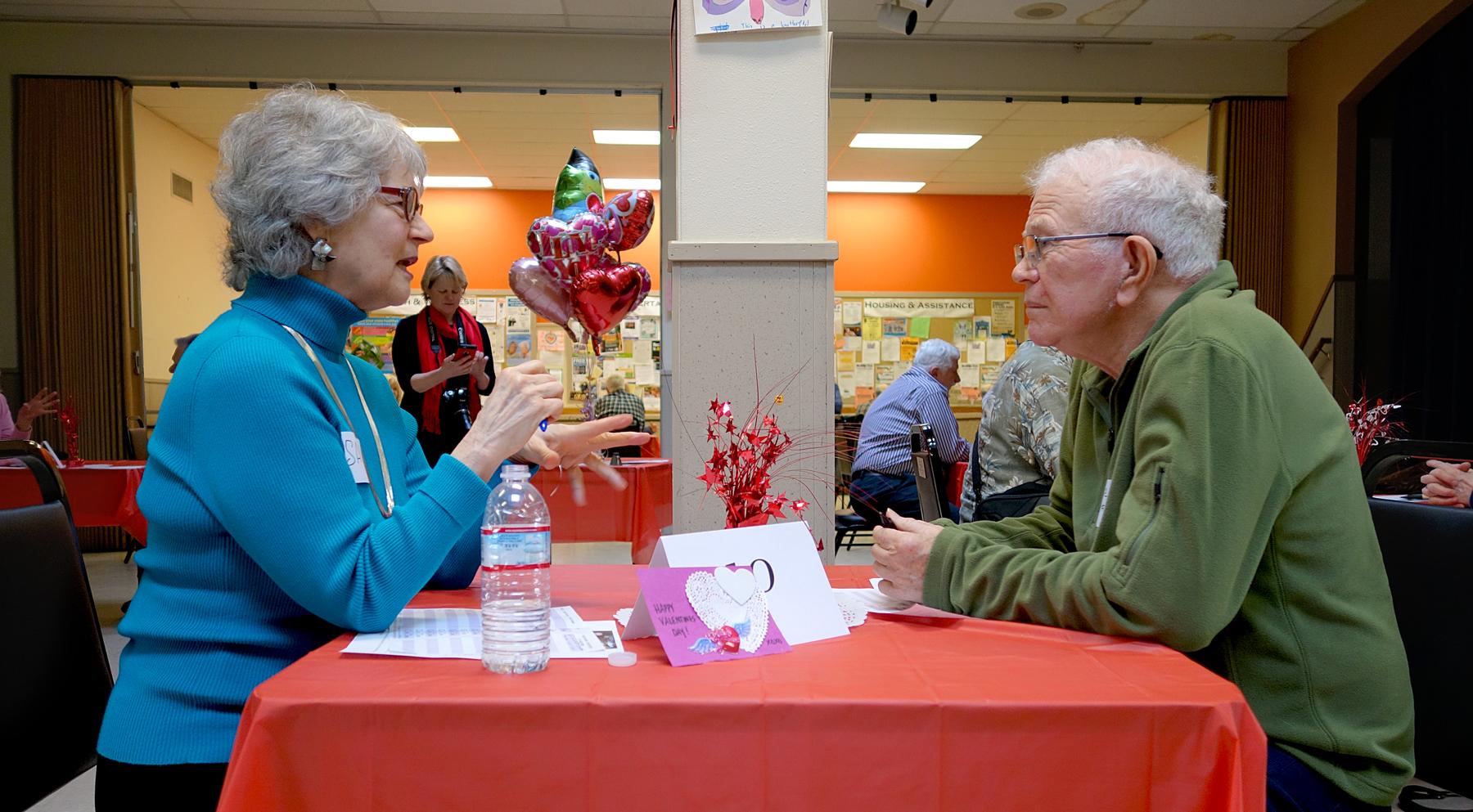 Speed dating seniors