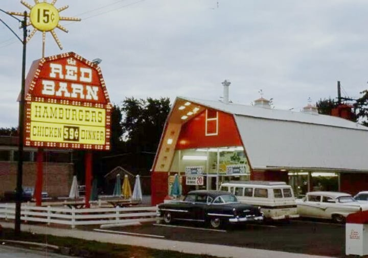 Vintage Fast Food Restaurants That You Are Definitely